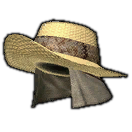 Angler's Hat of Dexterity (Blue)