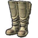 Boarskin Workboots of Piety (White)