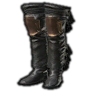 Dated Armored Jackboots (Black)