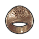 Dated Copper Ring