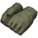Dated Cotton Halfgloves (Green)