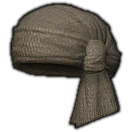 Dated Hempen Turban (Brown)