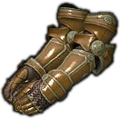Dated Iron Gauntlets (Brown)