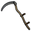 Dated Steel Scythe