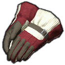 Felt Work Gloves of Strength (Red)