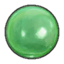 Green Glass Lens