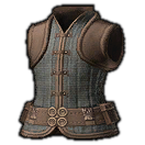 Hempen Doublet Vest of Crafting (Grey)