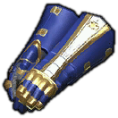 Heavy Darksteel Gauntlets (Blue)