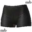 Lady's Knickers (Black)