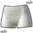 Lady's Knickers (White)