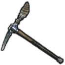 Plumed Mythril Pickaxe