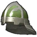 Steel Sallet (Green)