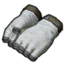 Woolen Halfgloves of Vitality (Grey)