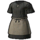 Woolen Smock of Piety (Black)
