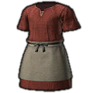 Woolen Smock of Piety (Red)